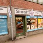 Butiksfasaden i Göteborg