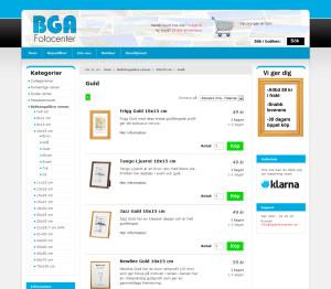 BGA Fotobutik vid lansering 31 dec 2012